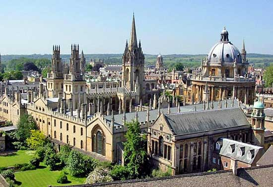 Beasiswa Riset di University of Oxford, UK